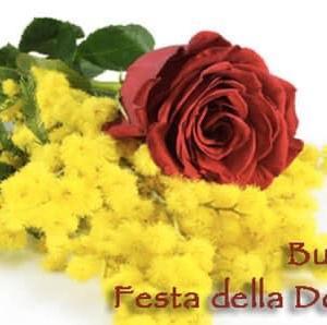 BUONA FESTA DELLA DONNA 国際女性デー ミモザの日をお祝いしよう!