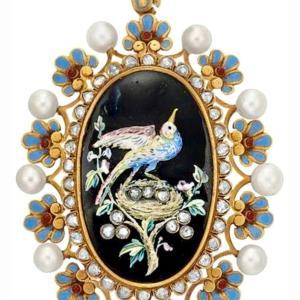 UN MUSEO FABERGE ロシアの宝飾卵 ファベルジェも惚れた イタリアンエナメル細工
