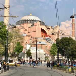 LA BASILICA DI SANTA SOFIA トルコに残るモザイク画 アヤソフィア大聖堂