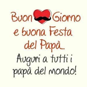 BUONA FESTA DEL PAPA 父の日 パパ いつも有難う!愛しているよ♡