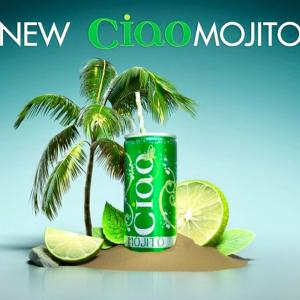 NEW CIAO MOJITO チャオ缶に新しい仲間が登場!スペアミントがキリッと爽快 モヒート