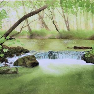 いちばんていねいな渓流を描く水彩レッスン特別編・前編