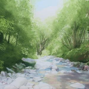「穏やかな流れ」の過程と志賀高原の渓流の思い出