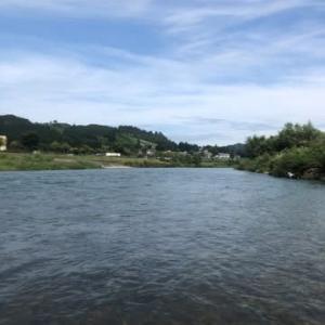 魚野川で大惨敗。