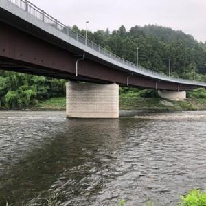 またも撃沈の那珂川・・の支流の箒川