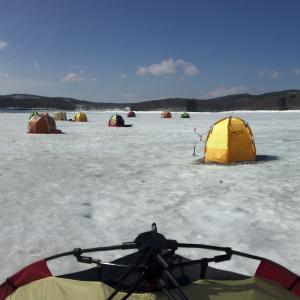 2018岩洞湖氷上ワカサギ釣り最後の記事