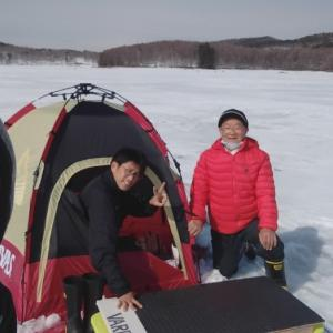 氷上釣り最後の日