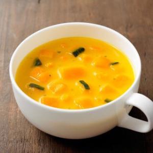 かぼちゃスープで、心身のバランスを整えましょう♪