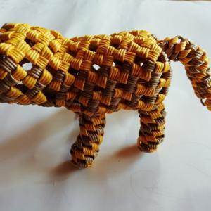 石畳編みでトラ  レシピ作成中