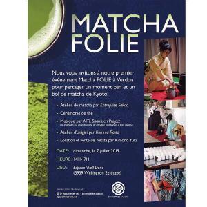 七夕は、Verdunで和のイベント『Matcha Folie』
