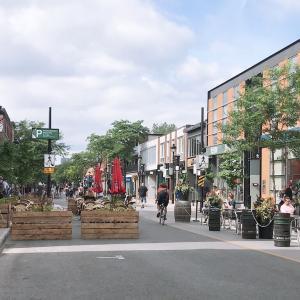 ロックダウン以来初の外食ブランチ川沿いの『Crescebdo』 :コロナウィルス・ロックダウン生活 in Montreal