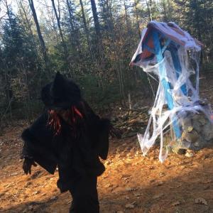 ハロウィンは森でハウンテッド・フォレスト:Covid生活 in Montreal