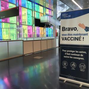 注射嫌いに朗報!Covidワクチン痛くない。:Covid生活 in Montreal