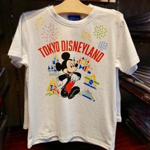東京ディズニーランド・東京ディズニーシーのキッズTシャツ、ミッキーのキッズハット新発売☆
