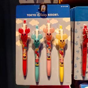 ミッキーバルーンも!東京ディズニーリゾート 新作シャープペン・ボールペンセット!