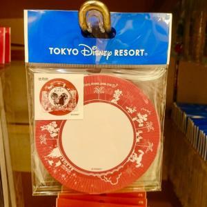 パークと同じ♡東京ディズニーリゾート パークフード皿デザインのメモ新発売!