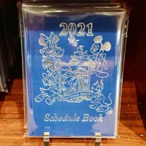 東京ディズニーリゾート 2021年の手帳・カレンダー本日発売!