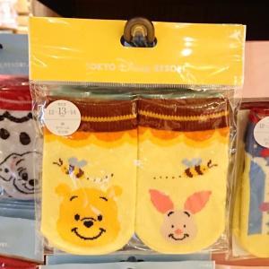 プーさん・101匹わんちゃん・チップ&デールの赤ちゃん用靴下 本日発売!