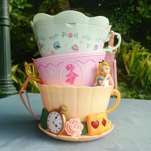 ティーカップ型!ふしぎの国のアリスのポップコーンバケットが初登場♡