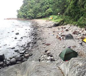釣り縛りキャンプ