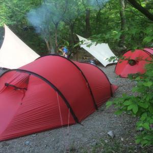 道志の森 父子キャンプ