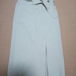 VICKY デニムライクスリットスカート