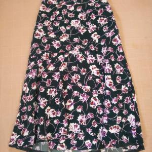 ROPE フラワープリントマーメードスカート