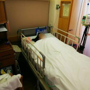 7/2 腹腔鏡で胆嚢摘出した話 入院2日目(手術当日) #胆嚢摘出 #腹腔鏡手術 #ラパコレ