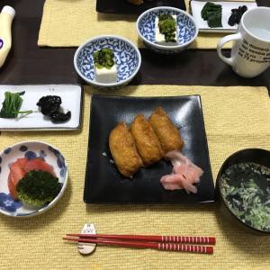1/4土曜 いなり寿司
