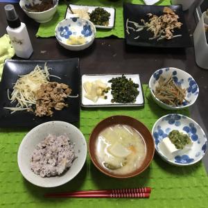1/22水曜豚の生姜焼き