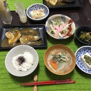 1/26日曜 サバの味噌煮
