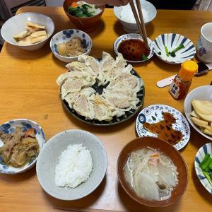 4/8水曜 餃子