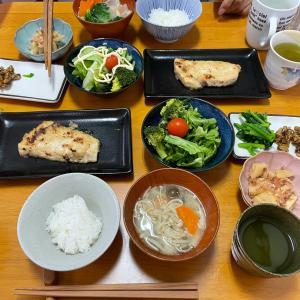 4/25日曜 メカジキのマヨネーズ焼き