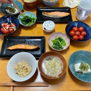 5/2日曜 シャケの塩焼き