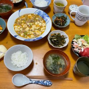 5/10月曜 麻婆豆腐