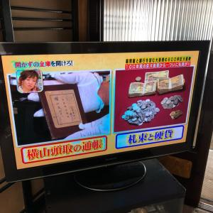 迫力あるテレビは何よりの贅沢!