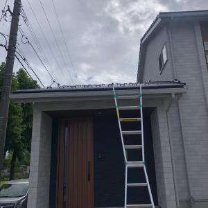 新築のアンテナ工事は天気予報とにらめっこ!