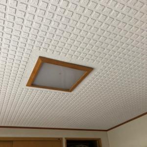 埋め込みの明かり+LED器具追加で居間を明るく!