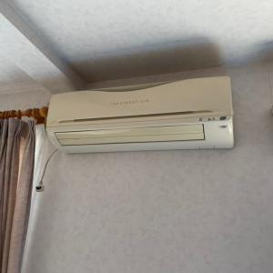 3階から1階までの隠ぺい配管(汗)