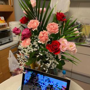 敬老の日に花束を!