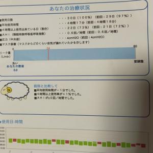 CPAP治療レポート(使用状況)