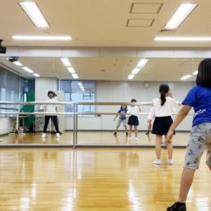 今週からダンスレッスンも再開です♪ウィルス対策の継続をよろしくお願いします。