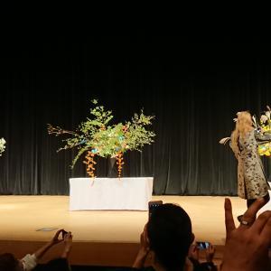 假屋崎省吾さんトーク&デモンストレーション観てきました