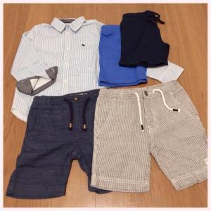 H&M最終セールで息子の来年の夏服 購入♡