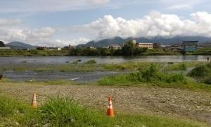 今シーズン最後の魚野川