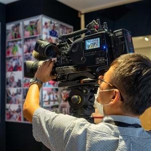 NHKローカルテレビの取材