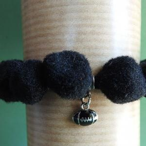 Week 333 - All Black Pom Pom Collar