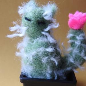 Week 335 - Felted Cat Cacti