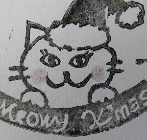 Week 340 - Meowy X'mas Stamp