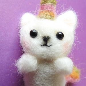 Week 318 - Felted Kittycorn